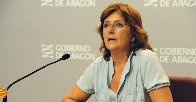 María Victoria Broto visita la primera residencia pública de Aragón sin sujeciones