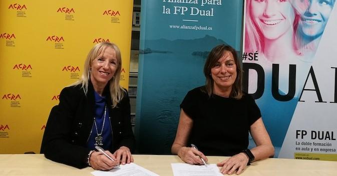 ACRA se adhiere a la Alianza para la FP Dual