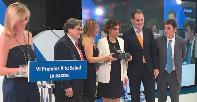 'La Razón' premia el proceso de fusión de Amavir