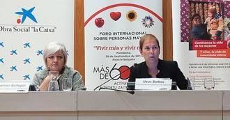 """Barkos reivindica el importante capital """"humano, intelectual y social"""" que aportan las personas mayores"""