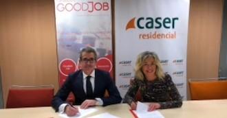 Caser Residencial y Goodjob firman un acuerdo de colaboración
