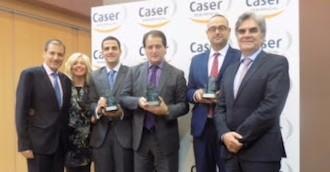 Caser Residencial premia a sus centros más excelentes de 2016