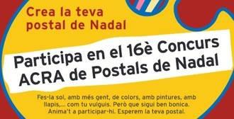 Ya está aquí la 16ª edición del concurso de postales navideñas de ACRA