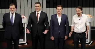 El debate 'a cuatro' que ganaron los cuatro... o no
