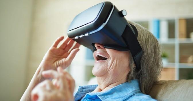 Mirando al exterior. Realidad virtual al servicio del cuidado geriátrico