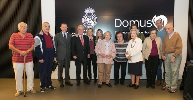 DomusVi colabora con la Fundación Real Madrid para promocionar el envejecimiento activo
