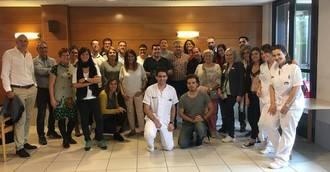 Inforesidencias y directores de residencias de España visitan el centro Geriatros-SARquavitae Berra en San Sebastián