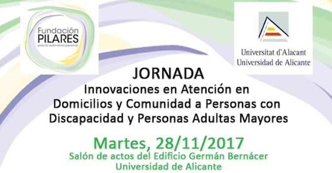 La Universidad de Alicante acoge una jornada para analizar la innovación en el servicio de atención a domicilio