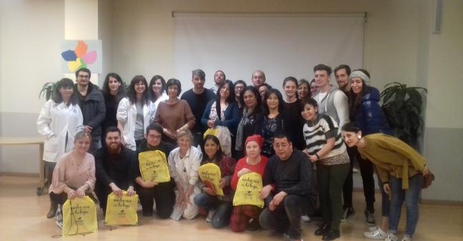 Una delegación italiana visita Amavir Valdebernardo para conocer el programa de eliminación de sujeciones