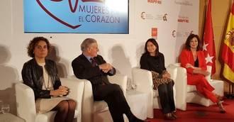 """Ana Rosa Quintana, Mónica Naranjo y Ruth Beitia, """"Mujeres por el Corazón"""" de Madrid"""