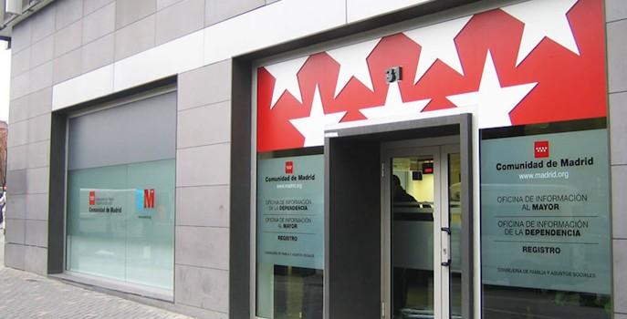 La oficina de la dependencia y el mayor de la comunidad de for Oficinas de registro de la comunidad de madrid