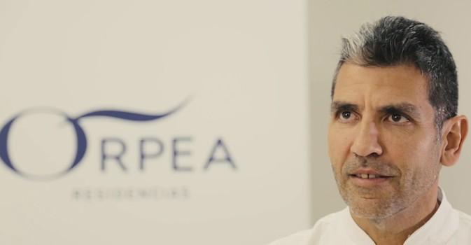 Paco Roncero: 'La receta más importante para los mayores es el cariño y el corazón'