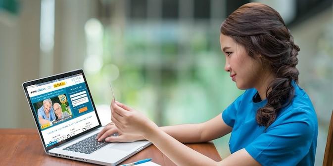 La formación online ayuda a profesionalizar al sector sociosanitario