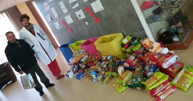 """Amavir dona 2.788 kilos al Banco de Alimentos en la """"Gran Recogida"""""""